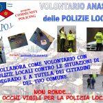 VOLONTARI ANASPOL DELLE POLIZIE LOCALI