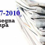 Rassegna Stampa 2007-2010