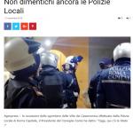 CASAMONICA, Lo Stato c'era ? Non dimentichi ancora le Polizie Locali