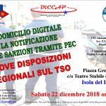 Corso di Formazione a Isola del Liri (FR) il 22 dicembre 2018
