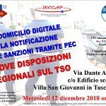 Corso Formazione a Villa San Giovanni in Tuscia (VT) il 12 dicembre 2018