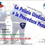 La Polizia Giudiziaria, corso di formazione a Villa S. Giovanni in Tuscia