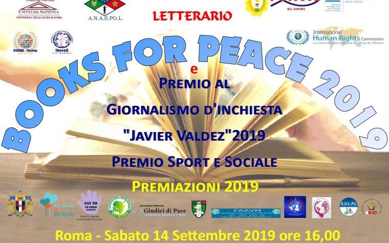 III EDIZIONE BOOKS FOR PEACE 2019