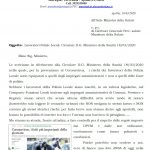 L'ANASPOL SCRIVE AL MINISTERO DELLA SALUTE PER CONTESTARE ALCUNI CONTENUTI DELLA CIRCOLARE DEL 18 MARZO 2020