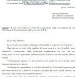 II fase del lockdown Covid-19:  lettera al Ministro della Giustizia inerente le citazioni a testi degli operatori di polizia