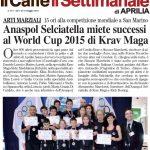 RASSEGNA STAMPA 2015 – ANASPOL progetto Palestra Selciatella