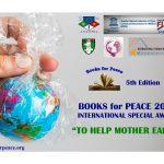 Books for Peace 2021 – Presentato il logo della V edizione