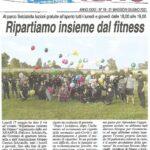 I complimenti dei mass media per il ns progetto socio-sportivo a Selciatella – Aprilia (LT)